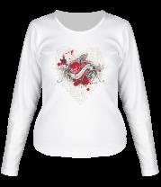 Женская футболка с длинным рукавом Любовь Unconditional