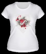 Женская футболка  Любовь Unconditional