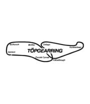 Женская футболка с длинным рукавом Трасса TopGear