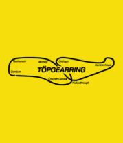 Женская футболка  Трасса TopGear