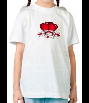 Детская футболка  Heart