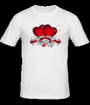 Мужская футболка  Heart