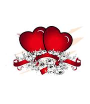 Коврик для мыши Heart