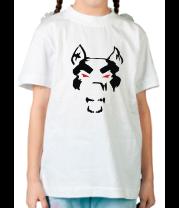 Детская футболка  Злой пёс