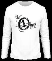 Мужская футболка с длинным рукавом The One