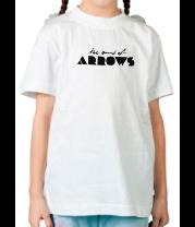 Детская футболка  The Sound Of Arrows