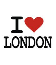 Мужская футболка  I Love London