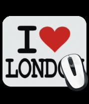 Коврик для мыши I Love London