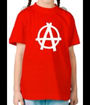Детская футболка  Анархия
