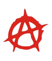 Футболка для беременных Anarchy