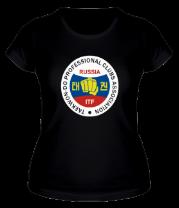 Женская футболка  Taekwon-do