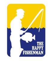 Женская майка борцовка Счастливый рыбак