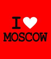 Детская футболка  I love Moscow
