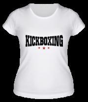 Женская футболка  Kickboxing (2)