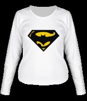 Женская футболка с длинным рукавом Super Batman
