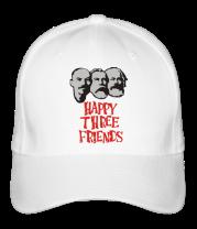 Бейсболка Happy Three Friends - Ленин Маркс и Энгельс