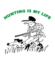 Мужская футболка  Охота - моя жизнь