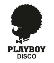 Женская майка борцовка PlayBoy Disco