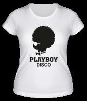 Женская футболка  PlayBoy Disco