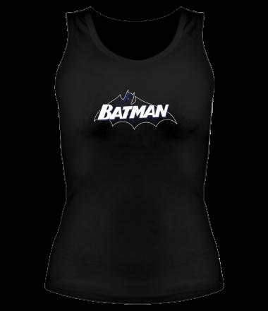 Женская майка борцовка Batman true