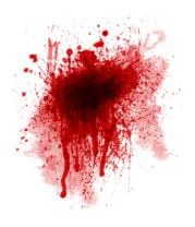 Шапка Кровавое пятно