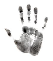 Коврик для мыши Отпечаток руки