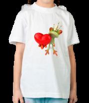 Детская футболка  Царевна лягушка