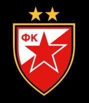 Бейсболка FK Crvena Zvezda