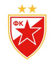 Мужская майка FK Crvena Zvezda