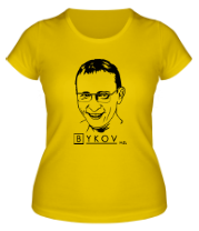 Женская футболка  Быков