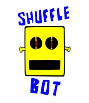 Мужская майка Shuffle Bot