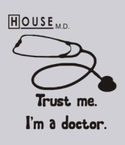 Толстовка House. Trust me I am a doctor