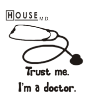 Коврик для мыши House. Trust me I am a doctor