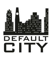 Мужская футболка  Default city