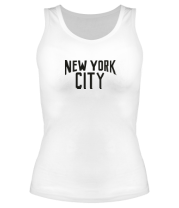 Женская майка борцовка New York City