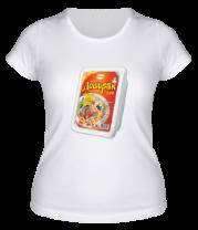 Женская футболка  Лапша Доширак