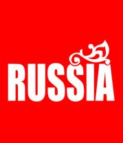 Футболка поло мужская Russia