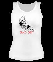 Женская майка борцовка Bad boy