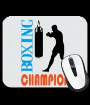 Коврик для мыши Boxing champion