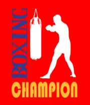 Женская футболка  Boxing champion