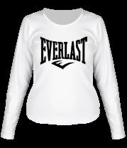 Женская футболка с длинным рукавом Everlast