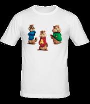 Мужская футболка  Элвин и бурундуки