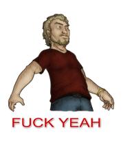 Женская футболка с длинным рукавом Fuck Yea