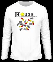 Мужская футболка с длинным рукавом House M.D.