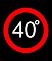 Бейсболка 40 градусов