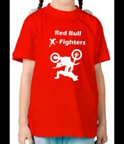 Детская футболка  Red Bull X-Fighters