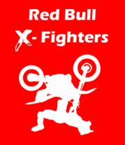 Мужская футболка  Red Bull X-Fighters