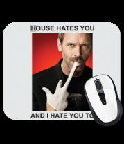 Коврик для мыши House Hates You