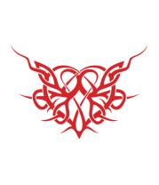 Кружка Трайбл Сердце