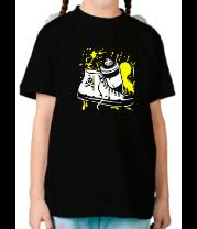 Детская футболка  Баллон и кеды